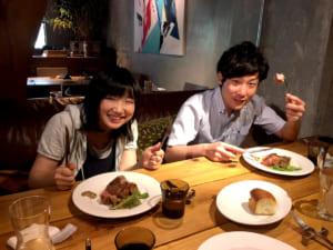 アンガス牛のランチ。大阪・天満は安くて美味しいお店がいっぱい!
