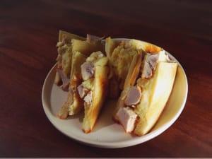 富士の鶏サンド